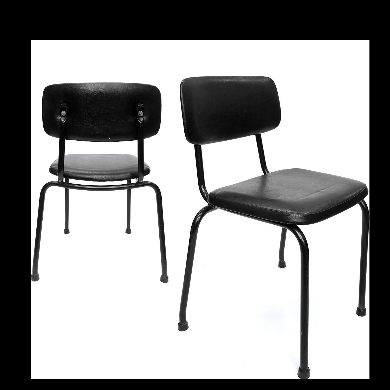 Set Industrial Ahrend De Cirkel Office Chairs, 1970